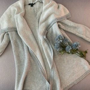 Ann Taylor Cable knit Sweater Cardigan
